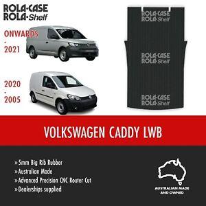 Volkswagen Caddy LWB Genuine Big Rib Rubber Cargo Van Flooring 5mm Computer Cut