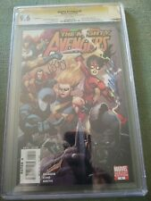 MIGHTY AVENGERS #1 RETAIL VARIANT CGC 9.6 SIGNATURE SERIES SIGNED x2 BENDIS CHO