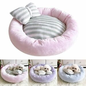 Pet Dog Bed Warm Puppy House Sleeping Bag Soft Cushion Cat Puppy Removable Cover