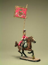 Painted Tin Toy Soldier Officer Cavalry Lifeguard #3 54mm 1/32