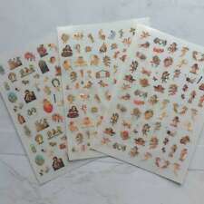 3pk* ANGEL NAIL STICKERS Cherub Popular Nail Art, Nail Decals, Nail Supplies,