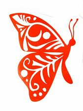 vinyl butterfly 6x4 in decal for your car,home 12 colors available