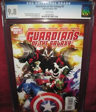 GUARDIANS OF THE GALAXY #7 MARVEL COMICS 2008 2nd series - CGC 9.8
