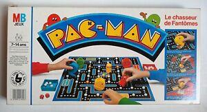 Jeu de Société Pac-Man Le Chasseur de Fantômes 1980 MB Namco incomplet
