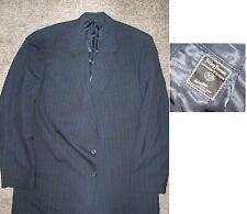 HICKEY FREEMAN designer GRAY PS suit sz 46 XL  X-LONG 38X33 flat front pants