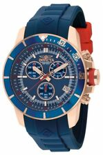 Invicta Men's 11749 Pro Diver Quartz Chronograph Blue Dial Watch