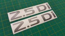 NISSAN Navara D22 NP 300 Frontier PORTELLONE 2.5di Posteriore di Ricambio Decalcomania Sticker