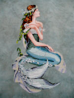 MIRABILIA Cross Stitch PATTERN ONLY MD84 Enchanted Mermaid