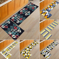 Kitchen Floor Mat Non-slip Runner Anti Fatigue Rug Carpets Door Mat Home Decor