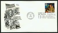#3186i 33c GI Bill, Art Craft FDC **ANY 4=FREE SHIPPING**