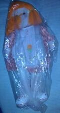 """New With Tags: Vintage 1982 Dan Dee Imports 20"""" Tall Stuffed Girl Doll"""