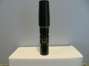 Tim Grounds Half Breed Goose Call New Short Reed Goose Call
