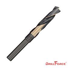 """Drillforce 21/32 in. S&D Silver Deming HSS Cobalt M35 1/2"""" Shank Drill Bit"""