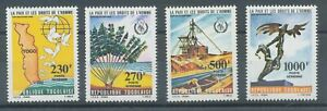 [P879] Togo 1985 human rights set very fine MNH stamps value $24