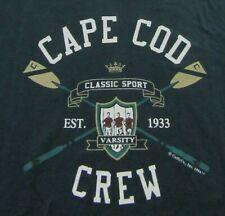 Vintage 1994 CAPE COD CREW Rowing Varsity Classic Sport Souvenir T Shirt Size XL