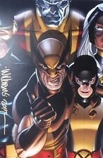 DAVID WILLIAMS rare WOLVERINE art print 12 x 18 SIGNED limited MARVEL X-MEN!