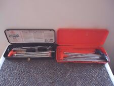 "Mixed Lot Of 2 Gun Cleaning Kits Cases With Handles And Rods "" GREAT MIXED LOT """