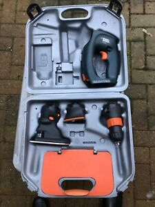 Black & Decker VP2000 Versapak Quattro Drill, Jigsaw, Sander, No battery/Charger