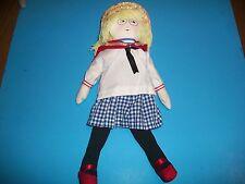 "Mary Engelbreit's Ann Estelle Collectible 13"" Vintage Soft Body Doll. New. @1994"