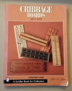 Cribbage Boards 1863-1998 Bette L. Bemis Price Guide Book Used