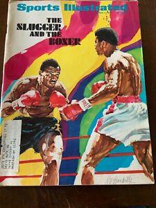 Sports Illustrated March 1, 1971 Ali / Frazier The Slugger and The Boxer