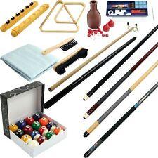 32 Piece Billiard Accessory Kit Den Billards Equipment Supplies Games Basement