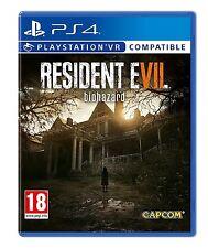 PS4 Resident Evil 7 Biohazard Neuf Scellé Pal Espagne