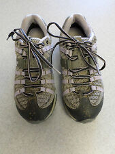 Montrail gray and light purple mesh, hiking shoes. Women's 7.5 (eur 39)