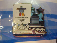 LOT of 40 PINS - Vancouver 2010 Skyline / Ship Olympic Pin
