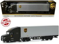 2019 Mack Anthem With Trailer United Parcel Service (UPS) 1/64 Diecast Model By