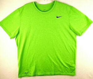 Nike Dri-Fit Mens Extra Large Athletic Tee T- Shirt Green Size XL