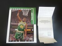 SHAWN KEMP SIGNED AUTO 8X10 PHOTO UPPER DECK TEAM MVP CARD UDA AUTOGRAPHED