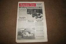 Motoring News 14 February 1974 Austin Healey Sprite Test Reims French GP 1954