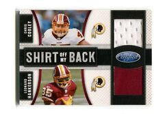 2011 Certified Shirt Off My Back #13 Cooley/Hankerson Redskins Jersey jh16