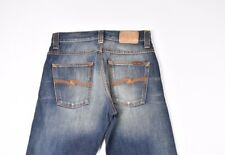 Nudie Jeans Regular Joe Azul Tonos Hombre Vaqueros Talla 29/34