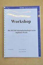 Workshop für die BICOM Schröpftechnologie in der täglichen Praxis