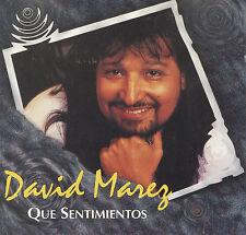 """David Marez """"Que Sentimientos"""""""