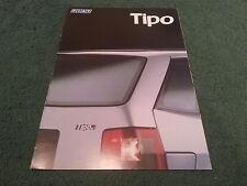 April 1988 Fiat TIPO - FRENCH FOLDER BROCHURE