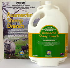 Ausmectin (Ivermectin) Broad Spectrum Oral Sheep Drench 5L (equiv Ivomec)