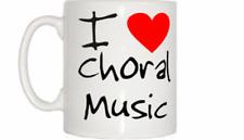 I Love Corazón Música Coral Taza
