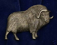 Empire Pewter Musk Ox Pewter Pin