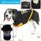 Pet Life LED Lighting Halloween Party Hooded Sweater Pet Dog Sweater Costume
