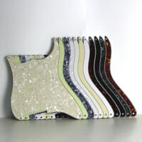 NEW Blank ST Strat Style Pickguard Custom Scratch Plate 4 Hole for FD ST Guitar