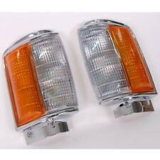 Fit for TOYOTA PICKUP 4x4 FRONT CORNER INDICATOR TURN LIGHT HILUX MK2 LN RN BLK