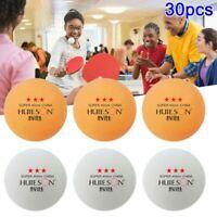 30PCS 3-Star Table Tennis Balls 40mm Ping Pong Balls Training Ping Pong Ball USA