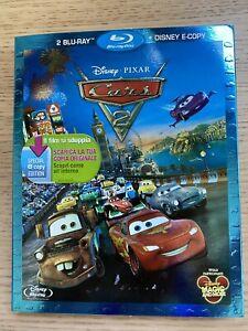 Cars 2 Blu-Ray + E-copy NUOVO
