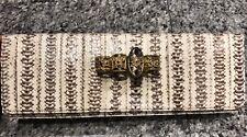 ARMENTA East-West Snakeskin Knuckle Clutch Bag