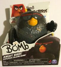 New Angry Birds Explosive Talking Bomb Action Figure WINK ERROR SUPER RARE