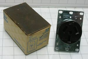Eagle 32-B 50a 125/250 volt Receptical welder range Outlet NEMA 10-50R
