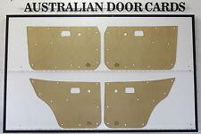 MAZDA RX3 Rotary, 808, 818, DOOR CARDS Sedan & Wagon. Blank Trim Panels 10A 12A